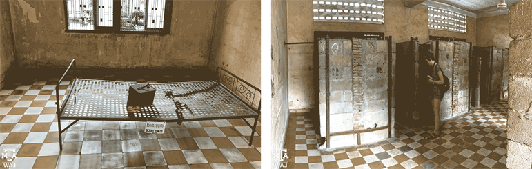 Tuol Sleng cells