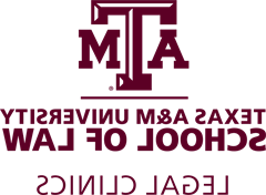 Texas A&M School of Law Legal 诊所 logo